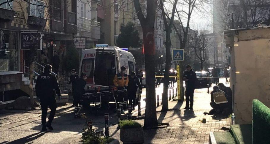 Sokak ortasında silahlı dehşet(videolu)