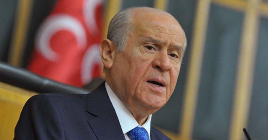 Son dakika >>> 'MHP, Cumhurbaşkanı adayı göstermeyecek'