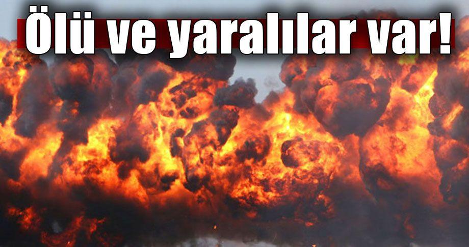 Son dakika >>> Suriye'de intihar saldırısı!
