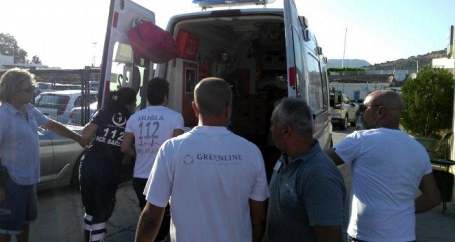 Sürat teknesinin çarptığı kadın ağır yaralandı: Ünlü oyuncunun oğlu gözaltına alındı