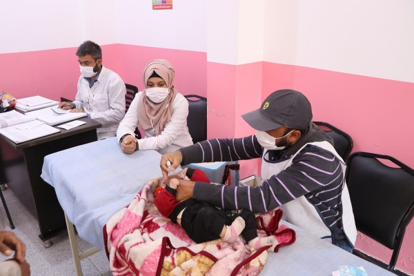 Suriye'deki çocuklar için harekete geçildi