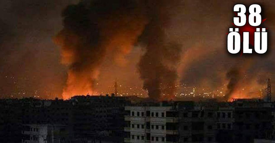 Suriye Hama'da şiddetli patlama!