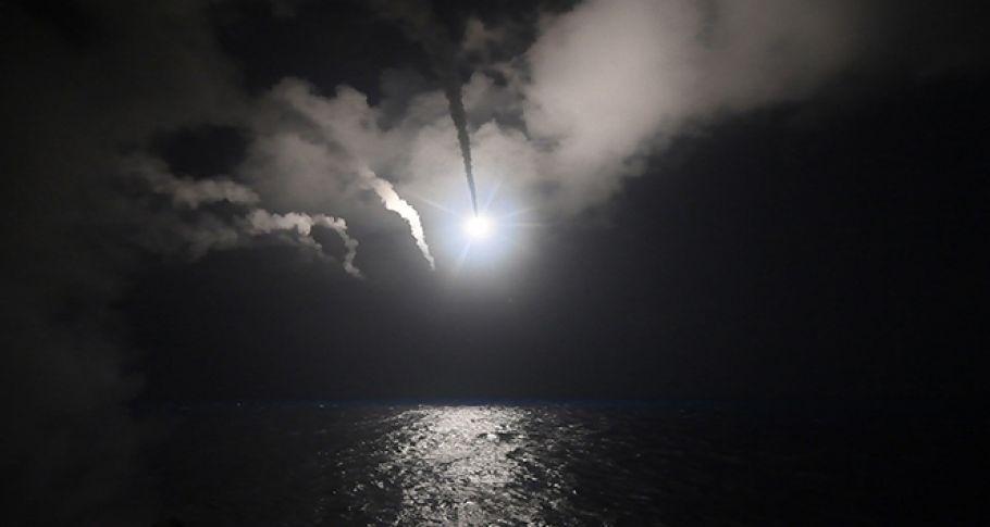 Suriye'de askeri havaalanına füze saldırısı iddiası