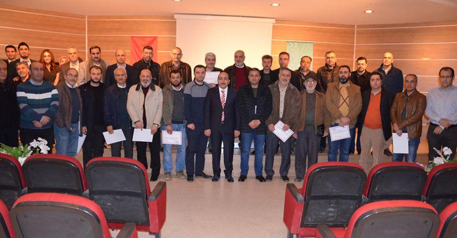 Suriyeli doktorlar sertifikalarını aldılar