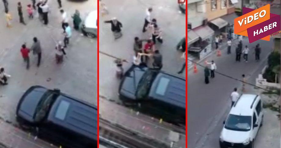 Suriyeliler kavga etti! 2 yaralı