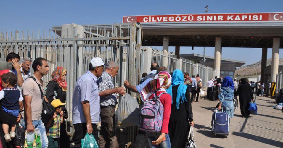 Suriyelilere Ramazan ve bayram izini