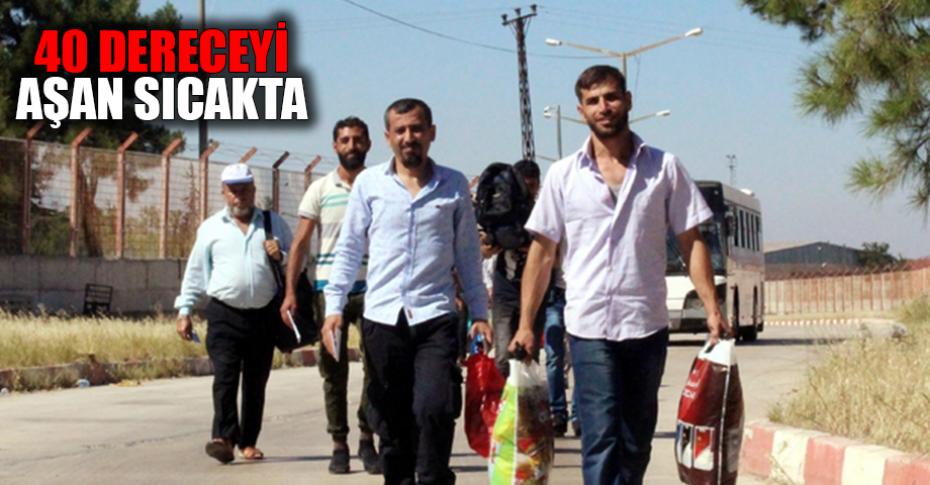 Suriyeliler'in bayram dönüşü sürüyor