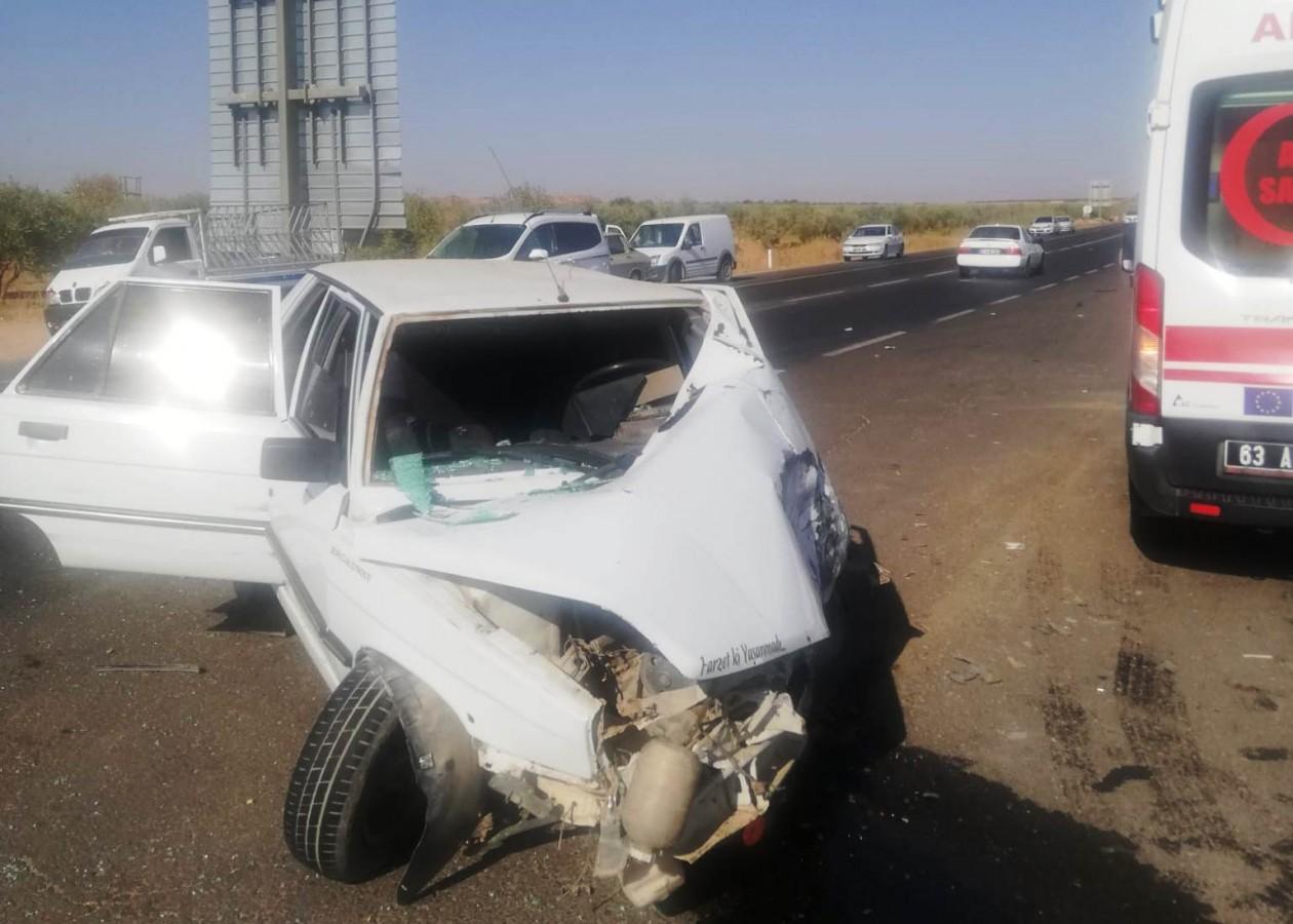 Suruç yolunda feci kaza: 4 yaralı