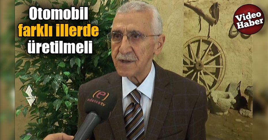 ŞUTSO Kayyum Heyeti Başkanı Demirkol'dan 'Yerli Otomobil' açıklaması