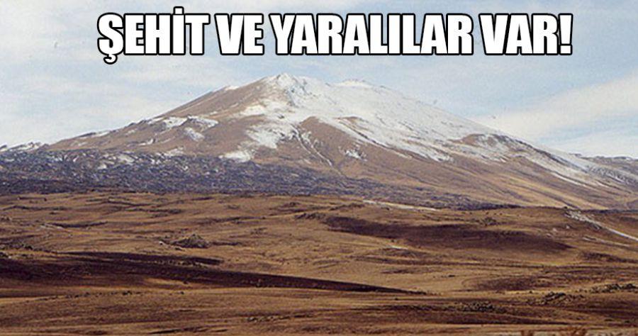 Tandürek Dağı'nda çatışma!