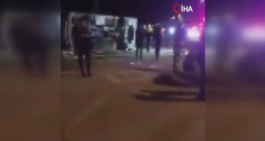 Taraftarları Taşıyan Otobüs Kaza Yaptı: 2 Ölü, 23 Yaralı