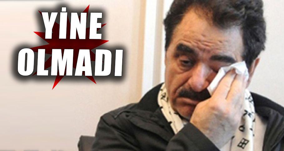 Tatlıses'in Milletvekili hayali bu sefer de İzmir'den döndü!