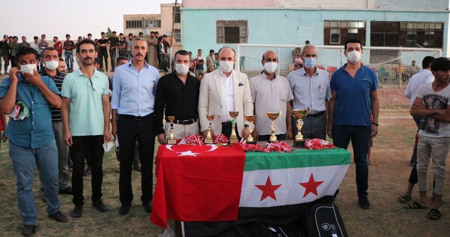 Telabyad Barış Pınarı Futbol Turnuvasında Final