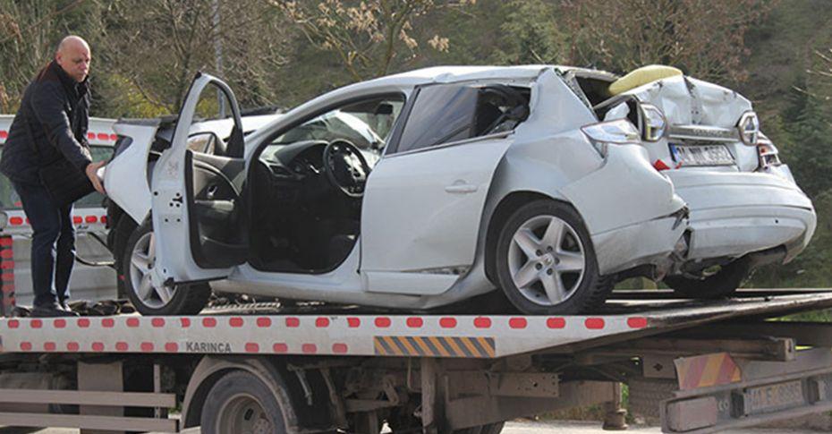 TEM'de 12 araç birbirine girdi, 10 kilometre kuyruk oluştu