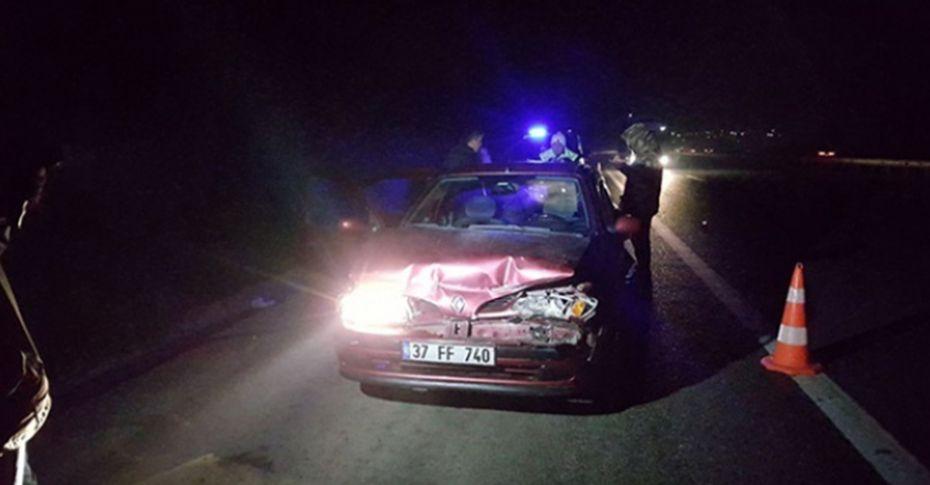 TEM'de kaza; 4 yaralı