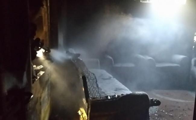Eyyübiye'de korkutan yangın