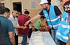 Eyyübiye'de vatandaşlara su,şerbet vb. ikramda bulundu