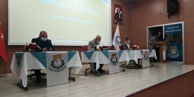 Haliliye Meclis Toplantısı'nda imar değişikliği konuşuldu
