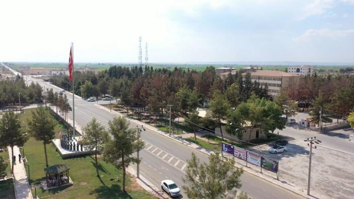 Harran'da sosyal tesis açılışa hazırlanıyor
