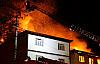 Kastamonu'da 7 ev alev alev yandı.