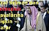 Kral Selman'dan yolsuzluk davalarına ilişkin karar