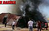 Malatya'da ambalaj fabrikasında korkutan yangın