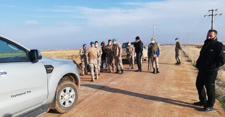 TİGEM arazisinde 2 kaçak avcı yakalandı