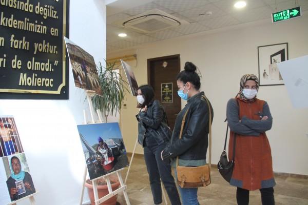 """Şanlıurfa'da """"Emekçi Kadınlar Sergisi"""" açıldı"""