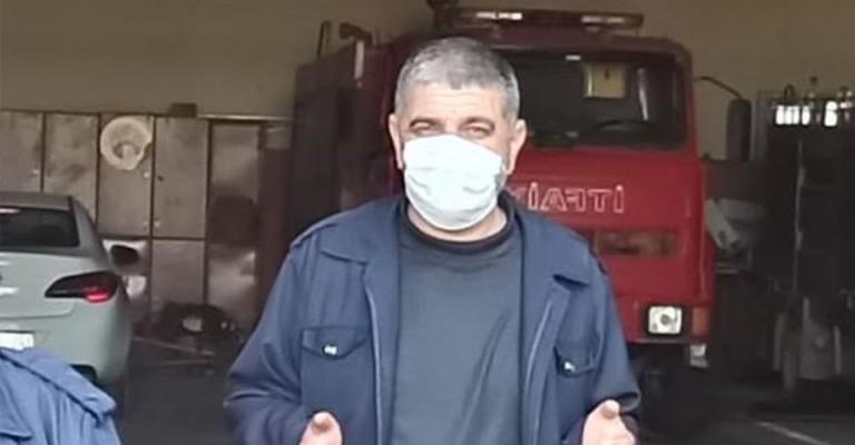 Şanlıurfa'da görevli itfaiye eri hayatını kaybetti