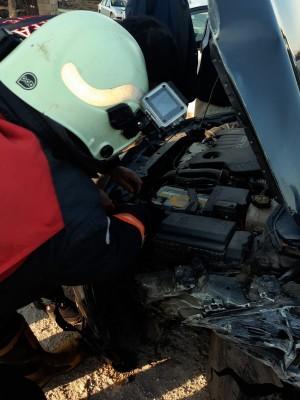 Şanlıurfa'da kaza: Sürücü yaralandı!