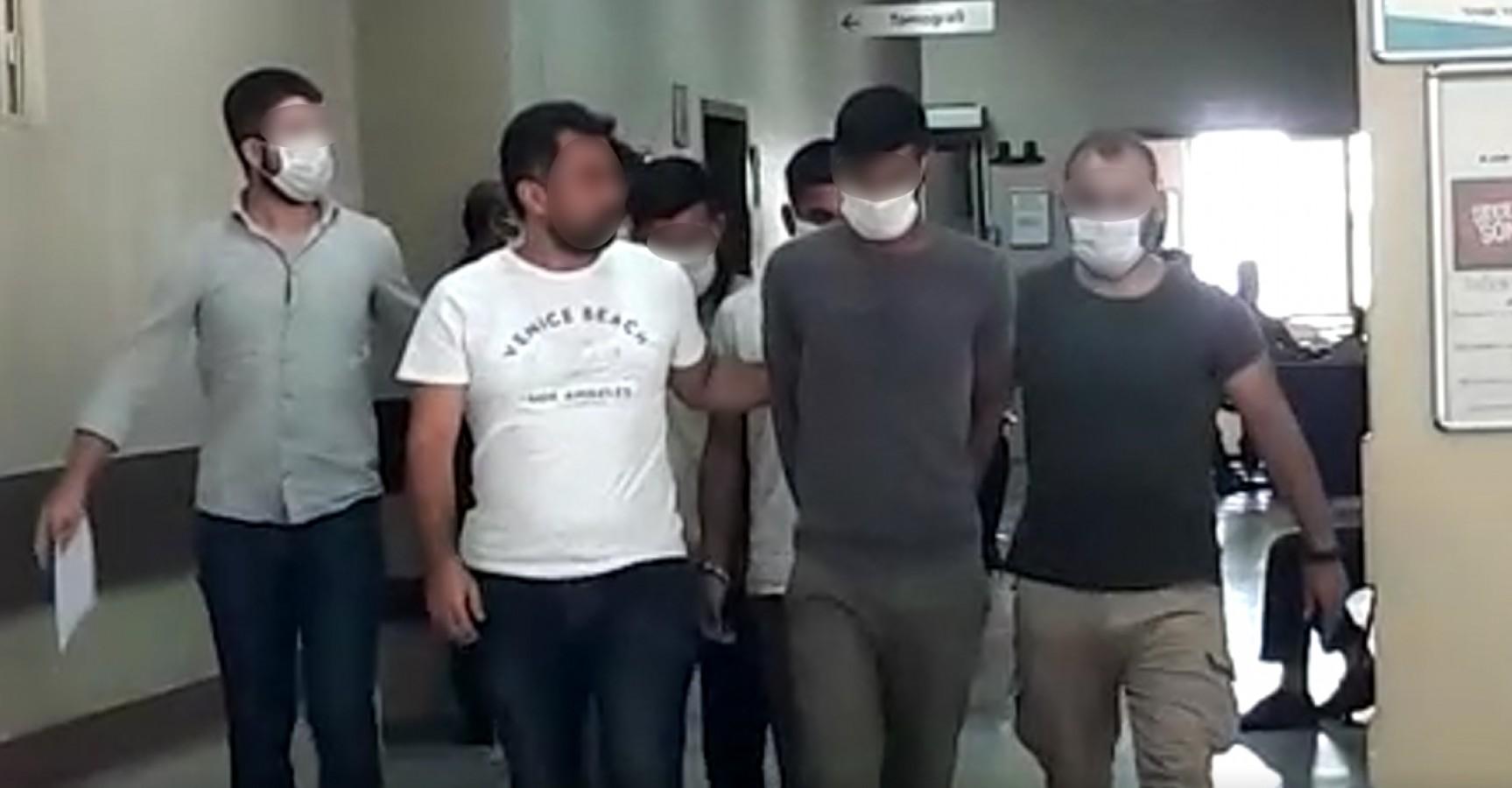 Şanlıurfa'da oto hırsızlarına şafak operasyonu: 6 gözaltı