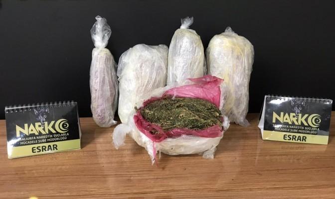 Şanlıurfa'da uyuşturucu operasyonunda 9 kişi tutuklandı