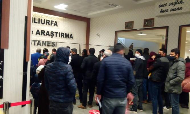 Şanlıurfa'daki hastanede yoğunluk yaşandı