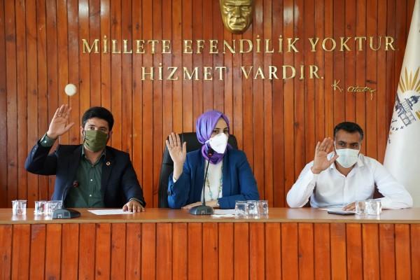 Siverek Belediyesi'nde meclis toplantısı tamamlandı