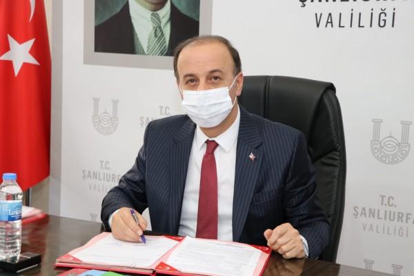 Urfa'da Gıda İhtisas OSB altyapı ihalesinde imzalar atıldı