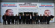 AK Parti seçim koordinasyon merkezinde...
