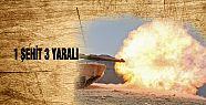 Cerablus'ta Türk tankına roketli saldırı:...