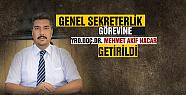 HRÜ'ye yeni genel sekreter atandı