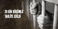 İlk etapta 38 bin mahkûmun tahliye edileceği...