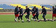 Karaköprüspor, Şile Yıldızspor maçında...