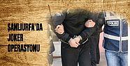Şanlıurfa'da 75 joker yakalandı