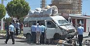 Şanlıurfa'da kaza 5 kişi yaralandı