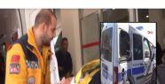 ŞANLIURFA'DA POLİSLER KAZA YAPTI