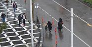 Şanlıurfa'da şiddetli sağanak yağış...