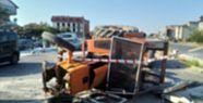 Şanlıurfa'da traktörden düşen işçi...