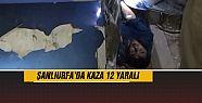 Şanlıurfa'da yine kaza : 12 yaralı