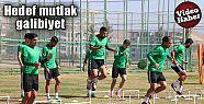 Şanlıurfaspor'da Silivrispor maçı hazırlıkları...