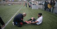 Silvan'da amatör maçta ambulans sıkıntısı