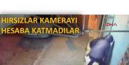 SİVEREK'TE HIRSIZLIK KAMERALARA YANSIDI