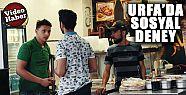 Suriyeli esnafa 'karnım aç' diyen gençler...